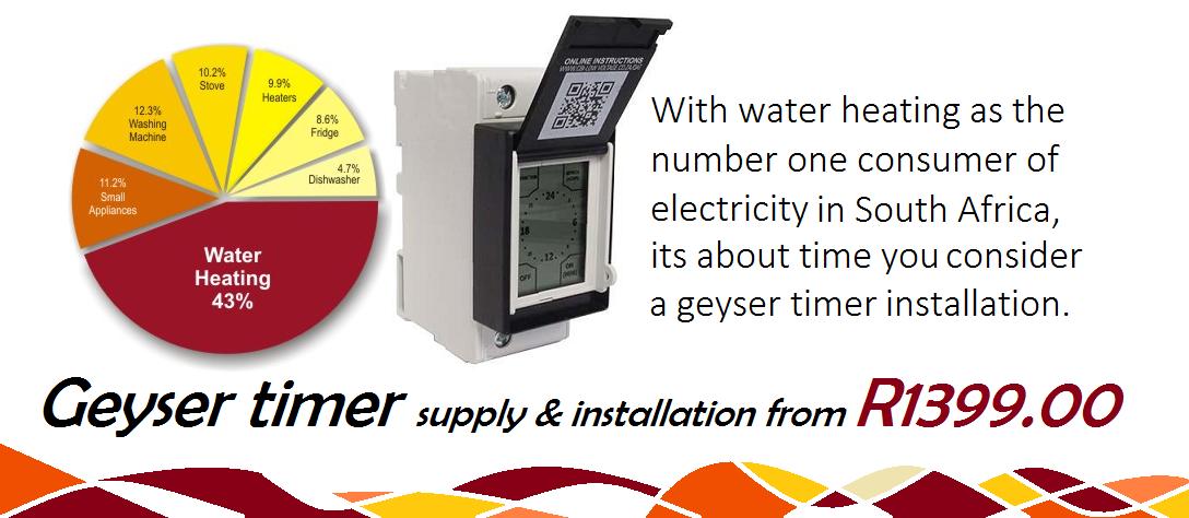 geyser timer installation